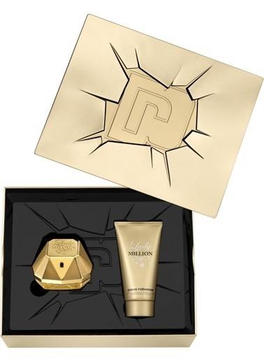 Paco Rabanne  Lady Million Edp 80+Bl100 Kadın Parfüm Set Renksiz